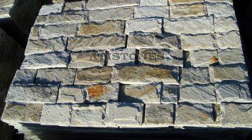 Laisvų gamtinių formų skaldytas akmuo gneisas Glits CS