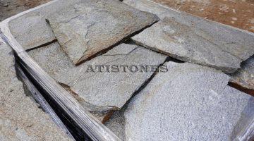 Laisvų gamtinių formų skaldytas akmuo gneisas H1