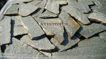 Laisvų gamtinių formų skaldytas akmuo gneisas H2