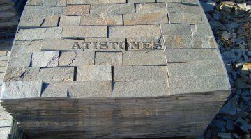 Laisvų gamtinių formų skaldytas akmuo gneisas H3 10 cm x FL
