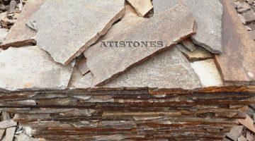 Laisvų gamtinių formų skaldytas akmuo gneisas I1