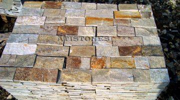 Laisvų gamtinių formų skaldytas akmuo gneisas I3 10 cm x FL