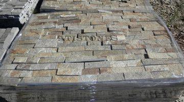 Laisvų gamtinių formų skaldytas akmuo gneisas I3 5 cm x FL