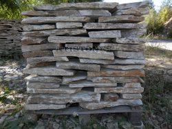 Laisvų gamtinių formų skaldytas akmuo gneisas I5