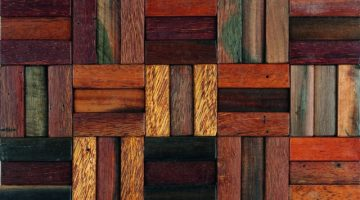 STRIPES WOOD 30X30-	M376