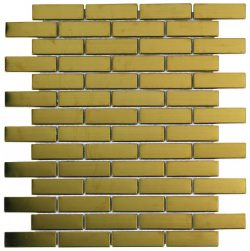 BRICKMETAL GOLD 26,2X30,6-	M370